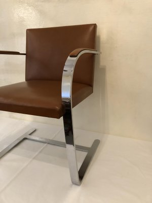 Brno Chair By Ludwig Mies Van Der Rohe For Knoll, 1970s 2