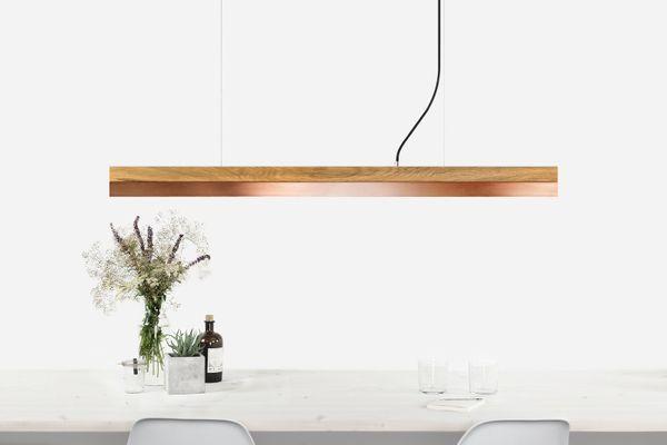 Copper C1o Dimmable Led Pendant Light By Stefan Gant For Gantlights 1