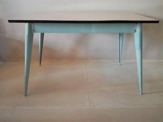 Mesa de comedor vintage de Xavier Pauchard para Tolix en venta en Pamono