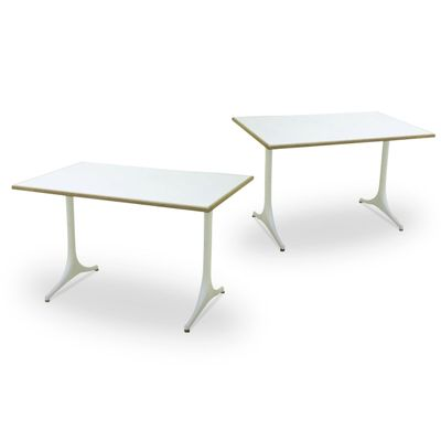Dining Tables By George Nelson For Herman Miller 1960s Set Of 2 1