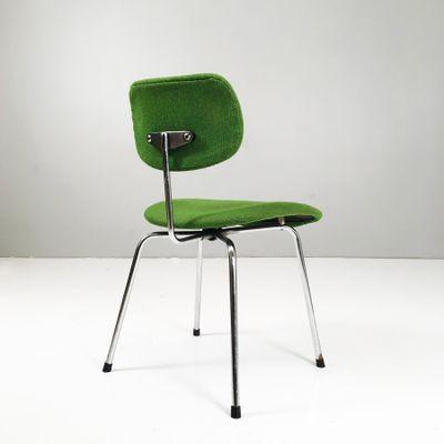 Grüner Vintage Se 68 Chair Von Egon Eiermann Für Wilde Spieth Bei
