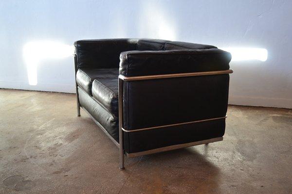 Salotto Le Corbusier.Set Da Salotto Lc2 Di Le Corbusier Anni 70