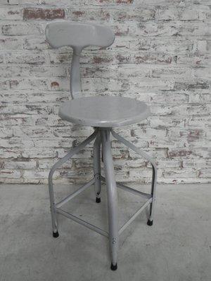 Tabouret Industriel Ou Chaise De Studio Par Chaises Nicolle En Vente