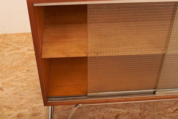 Credenza Con Vetrina Anni 50 : Credenza con ante scorrevoli in vetro a rete anni 50 vendita su