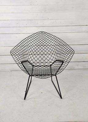 Model 421 Diamond Chair By Harry Bertoia For Knoll Inc. / Knoll  International, 1950s