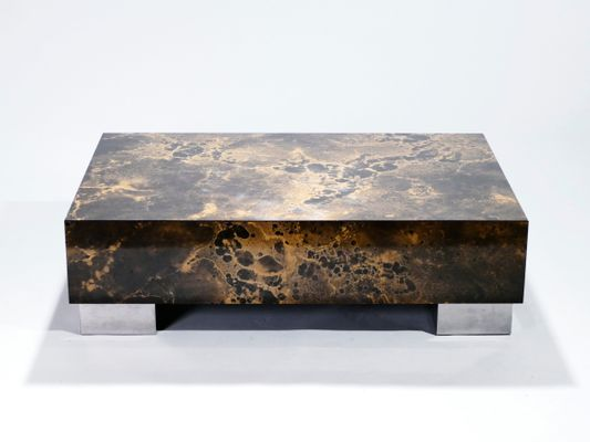 Coffee Table by Guy Lefevre for Ligne Roset, 1970s for sale at Pamono
