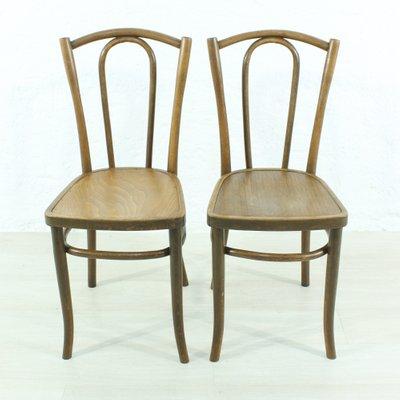 Sedie In Legno.Sedie In Legno Curvo Anni 20 Set Di 2