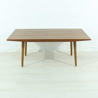 Table Basse Scandinave En Teck, 1950s