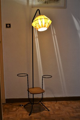 French Floor Lamp With Plant Pot Holders 1950s For Sale At Pamono