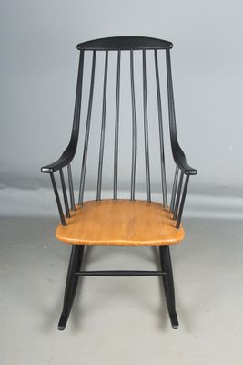Mid Century Rocking Chair By Lena Larsson For Nesto 3