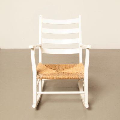Danish Rocking Chair, 1950s 2