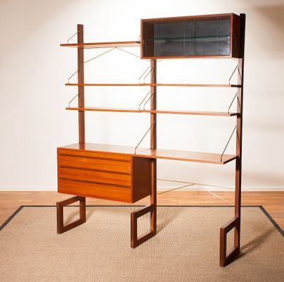 Free Standing Wall Shelving Units