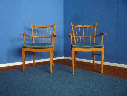 Sedie In Legno Ciliegio.Sedie In Legno Di Ciliegio Di Schildknecht 1956 Set Di 2 In