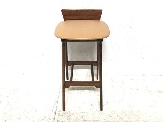 buy online 8de4c a55ce Vintage Danish Rosewood Bar Stool by Erik Buch for Chr. Christensen  Møbelfabrik I/S