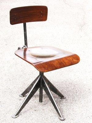 Chaise De Bureau Vintage Par Jean Prouve 3