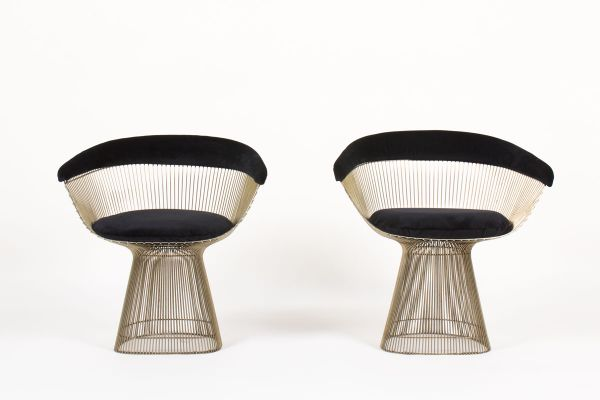 Side Chairs by Warren Platner for Knoll International 1960s Set of 2 1  sc 1 st  Pamono & Side Chairs by Warren Platner for Knoll International 1960s Set of ...