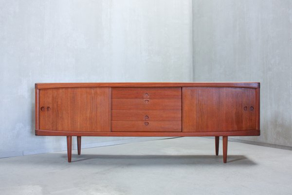 Vintage Teak Sideboard By H.W. Klein For Bramin, 1960s 1