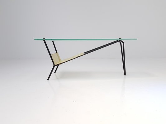 French Coffee Or End Table By Robert Mathieu, 1955 2