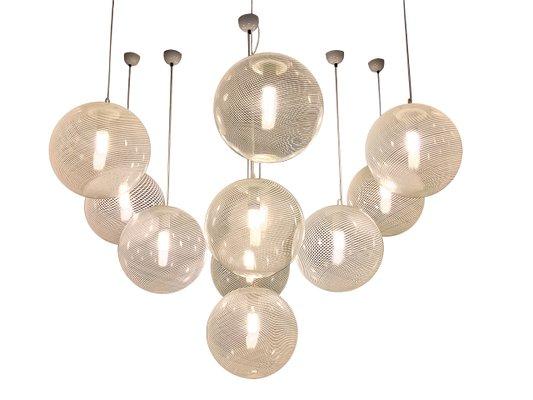 Lampade In Vetro A Sospensione : Lampade a sospensione vintage in vetro di murano di paolo venini