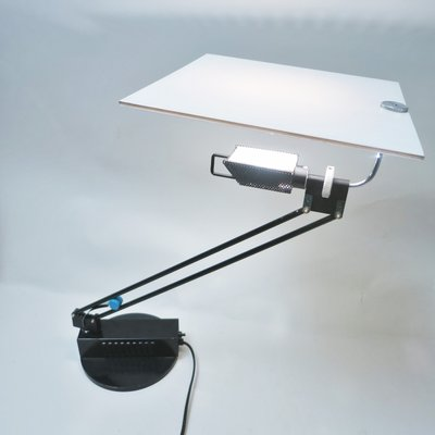 W O Table Lamp By Sacha Ketoff For, Aviation Desk Lamp