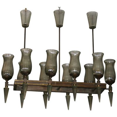 Vintage chandelier pair of sconces from veronese for sale at pamono vintage chandelier pair of sconces from veronese 1 aloadofball Image collections