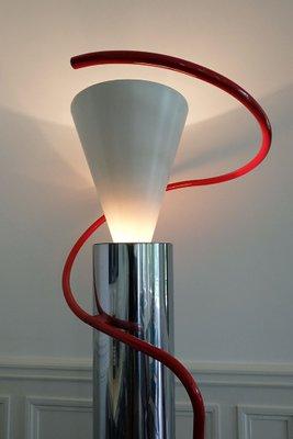 Luminator Floor Lamp By Luciano Baldessari For Luceplan 1979