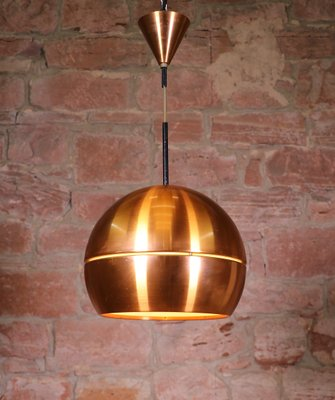 Mid Century Modern Copper Pendant Lamp