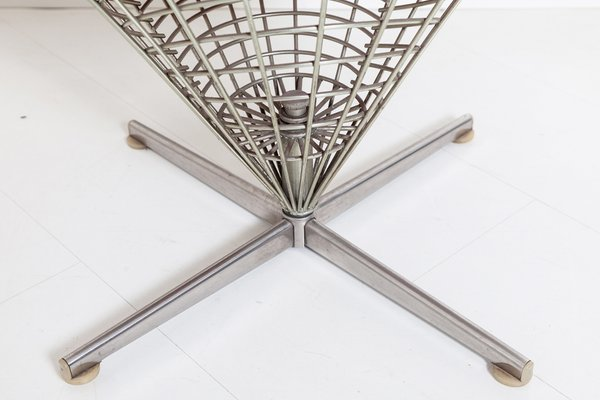Wire Cone Chair by Verner Panton for Plus Linje, 1958