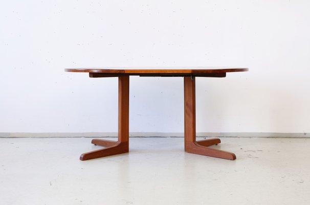Table De Salle A Manger A Rallonge Vintage Danemark En Vente Sur Pamono