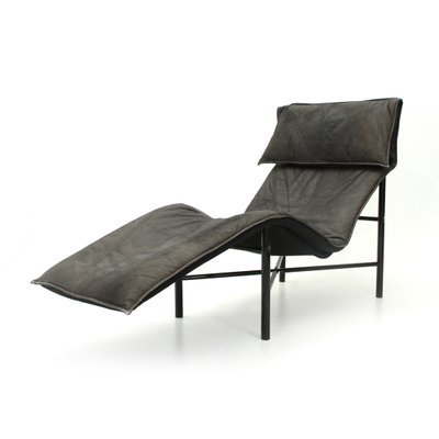 Skye Leather Chaise Longue By Tord Björklund For Ikea 1970s 1