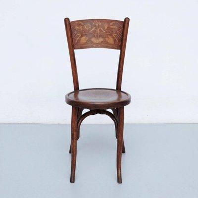 Sedie antiche in legno curvo di Codina, inizio XX secolo, set di 2 ...