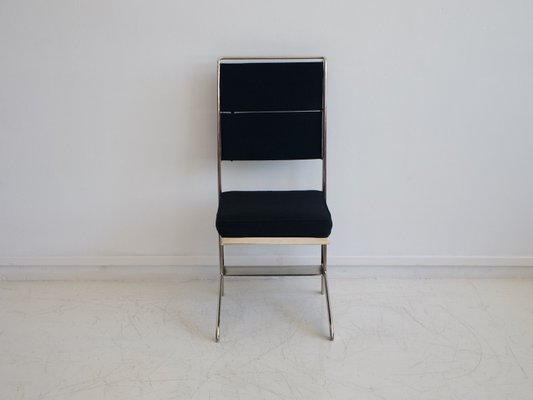 Folding Chair In Steel By Jean Prouvé For Tecta, 1980s 2