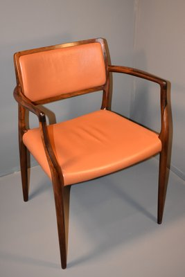 Merveilleux Rosewood Chairs By Niels Otto Møller, 1960s, Set Of 6 1