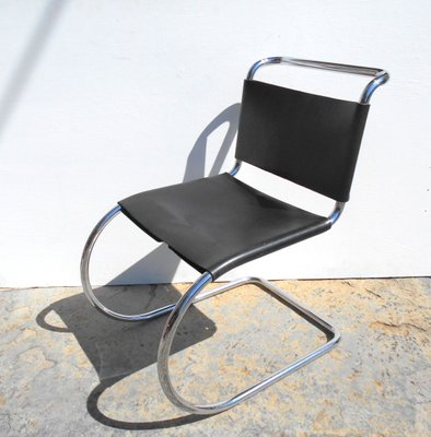 Mr10 Chair By Mies Van Der Rohe For Knoll 1980s For Sale At Pamono