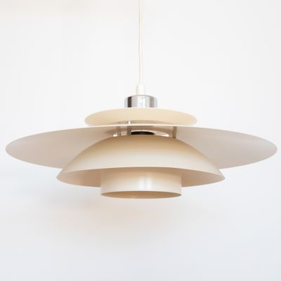 Vintage Danish Lux Layered Pendant Light From Design A S