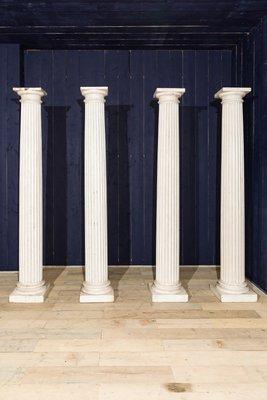 Colonna vintage in legno in vendita su Pamono