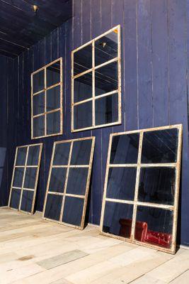 Schwedisches verspiegeltes Fenster, 1950er