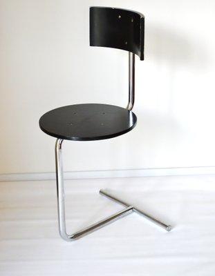 Fine Modernist Tzs1 Tabouret Side Chair By Gaston Eysselinck 1980S Squirreltailoven Fun Painted Chair Ideas Images Squirreltailovenorg