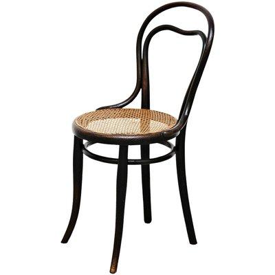 Chaise DAppoint En Rotin Et Bois De Thonet