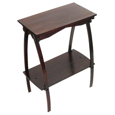 Art Deco Side Table In Walnut 1920s For Sale At Pamono