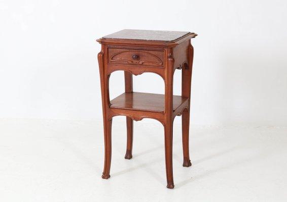 de 2 Chevet Art de Tables NouveauFrance1900sSet vN08nwm