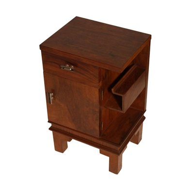 353b35927a58a Art Deco Walnut Nightstand by Osvaldo Borsani for sale at Pamono