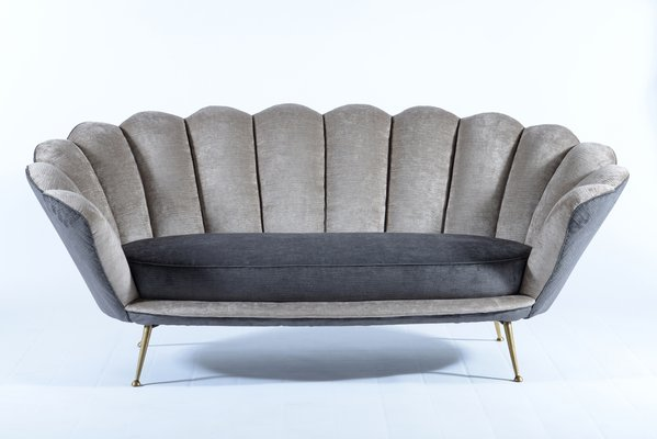 Design Bank Minotti.Flower Shaped Sofa By Minotti E Radice For Minotti 1950s