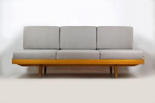 mid century sofa bed. Mid-Century Sofa \u0026 Bed From Jitona, Mid Century P