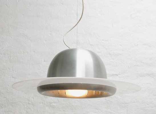 Lampada da soffitto grande italia anni in vendita su pamono