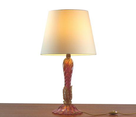 Vintage murano table lamp by alfredo seguso for sale at pamono vintage murano table lamp by alfredo seguso 2 aloadofball Gallery