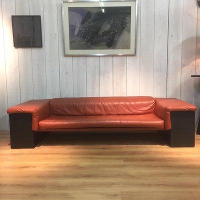 Sensational Cognac Leather Brigadier 3 Seater Sofa By Cini Boeri For Knoll 1974 Short Links Chair Design For Home Short Linksinfo