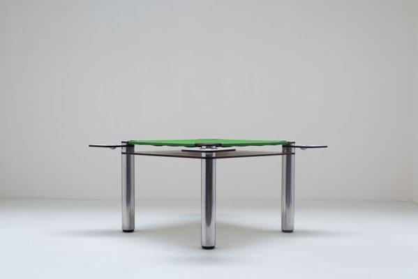 Tavolo da poker di Joe Colombo per Zanotta, 1968