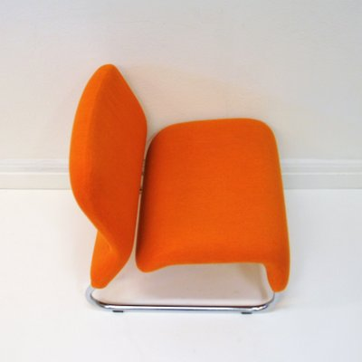 Orange Ecco Sessel Von More Design Team Fur Hjelle Mobelfabrikk