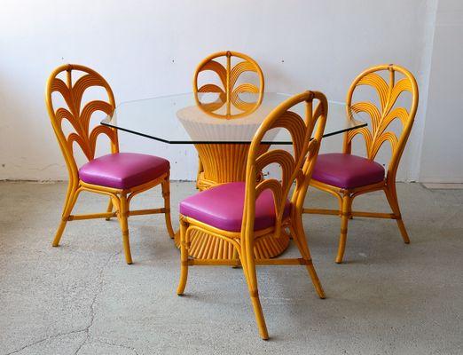 Sedie Francesi Da Giardino : Tavolo da giardino in bambù con sedie francia anni in